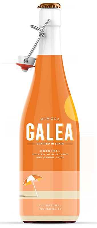 organic mimosa bottle