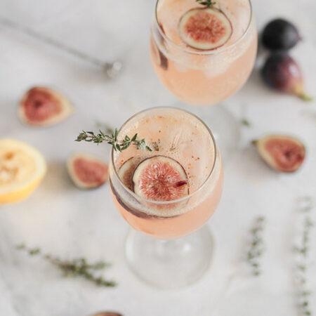 Galea organic rose frizzante sangria recipe